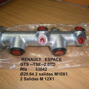 Bomba de freno Renault Escape