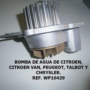 Bomba de agua Citroen
